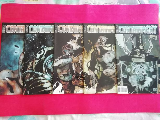 Eric red's containment #1 - #5 completo IDW Comics nick stakal