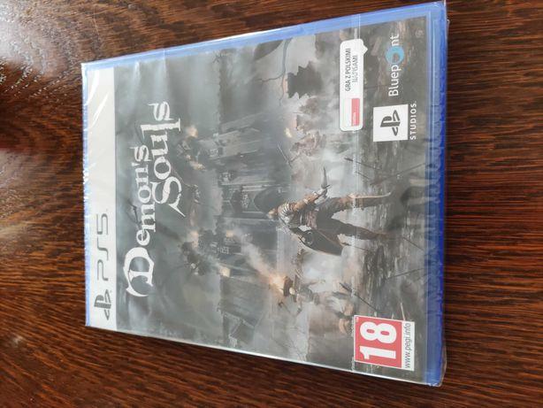 Gra Demon's Souls na konsolę PS5 Nowa
