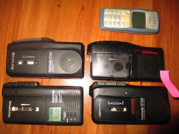 микрокассетный проф диктофон Olympus Pearlcorder S950 S701 S912 S723