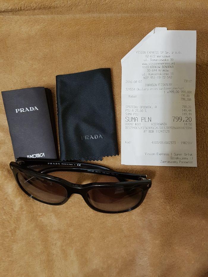 Okulary przeciwsłoneczne Prada Przeworsk - image 1