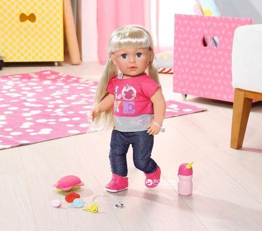 Кукла- пупс функциональная Сестричка Беби Берн