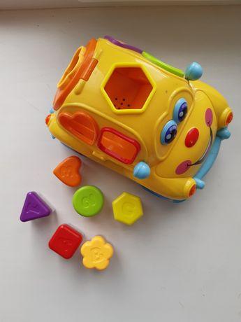 """Игрушка """"Фруктовая машинка"""" от Huile Toys"""