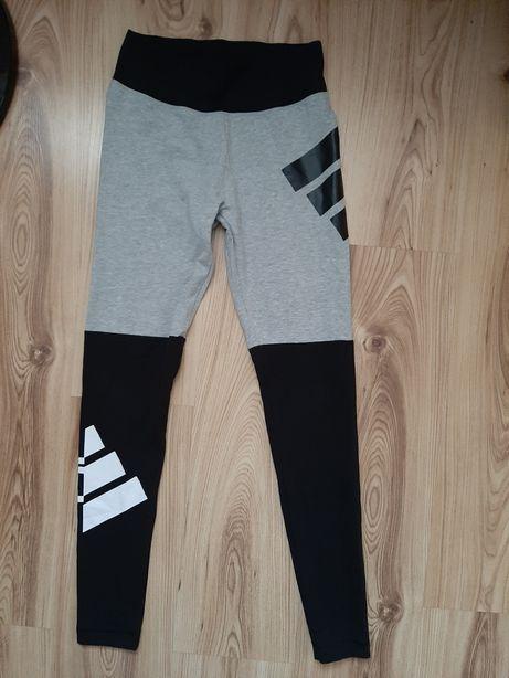 Spodnie dresy Leginnsy Adidas S 36