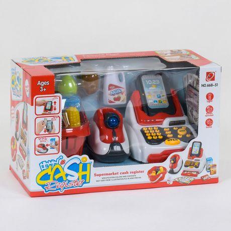 Касовый аппарат игровой, детский касовый аппарат, дитячий касовий