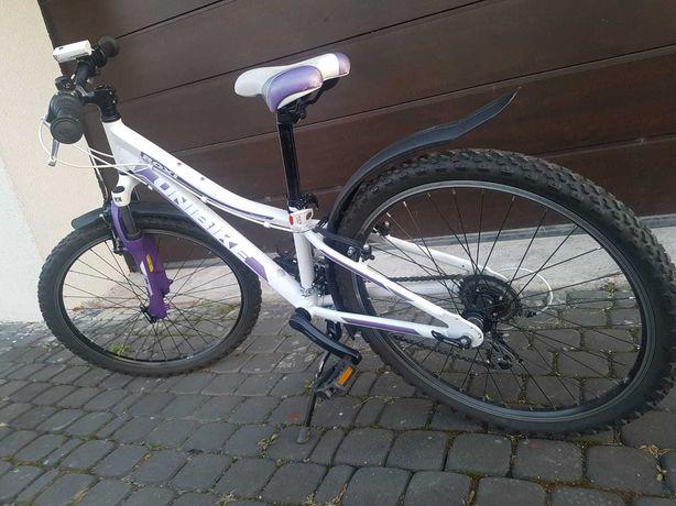 Rower dziewczęcy 24 cali