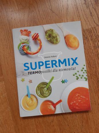 Książka Supermix termoposiłki dla niemowląt