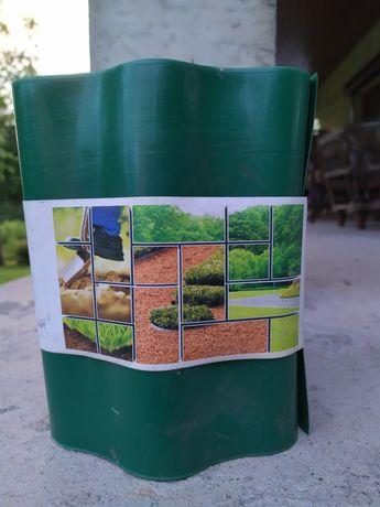 Obrzeże ogrodowe, trawnikowe 20cm x 9m zielone