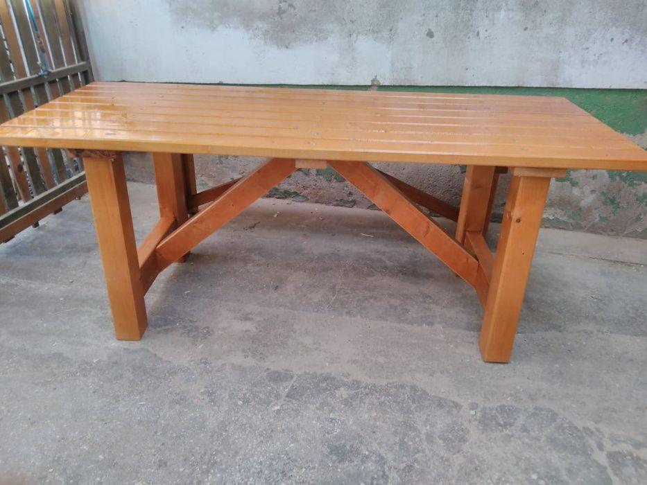 mesas de jardim Madeira&Conforto