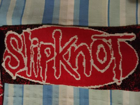 Шарф Slipknot (rock/alternative/nu metal merch)