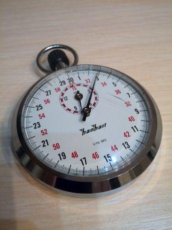 Секундомер HANHART с заводной головкой, шк. 1/10 с, отсчет 15 мин.
