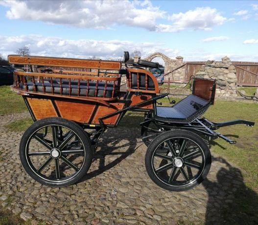 Powóz konny, bryczka - Wagonetka używana