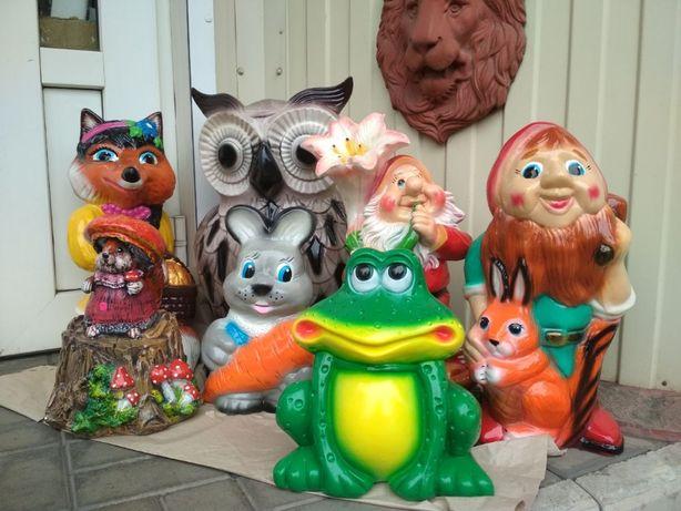Детский или взрослый уличный декор,статуэтки,фигуры.Животные. Новые!!!
