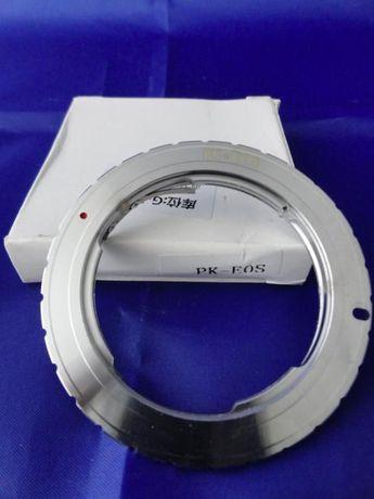 Adaptadores EOS: Pentax PK / Olympus OM - > Canon EOS