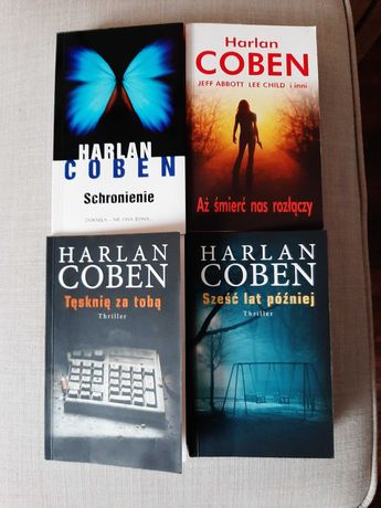 Książki Harlan Coben stan idealny