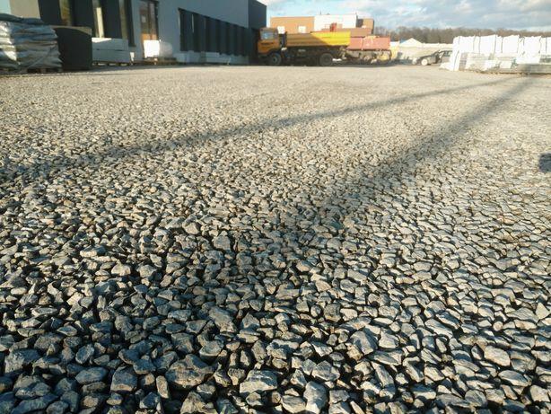 Kliniec kruszywo drogowe kamień drogowy na drogę parking plac droga