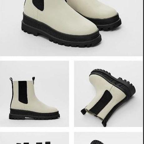 Продам ботинки на девочку Zara