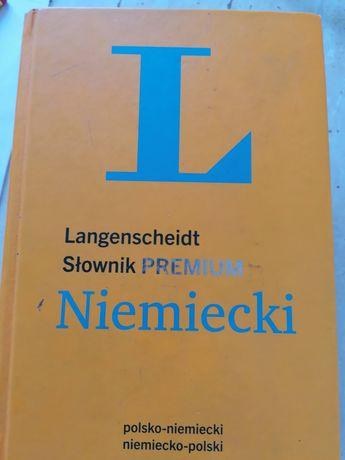 Słownik Premium Langenscheidt polsko-niemiecki niemiecko-polski