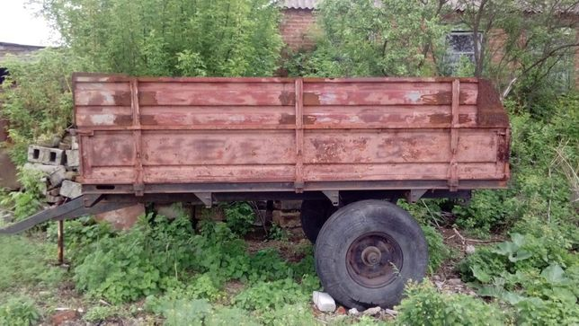 Тракторный одноосный прицеп, к трактору