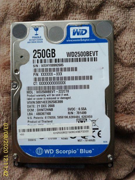 Dysk twardy 250 GB
