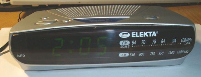 Продам радіоприймач-годинник ELEKTA ECR-304