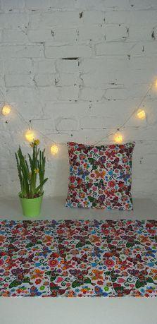 Dekoracyjne poduszki - poszewki - bieżniki