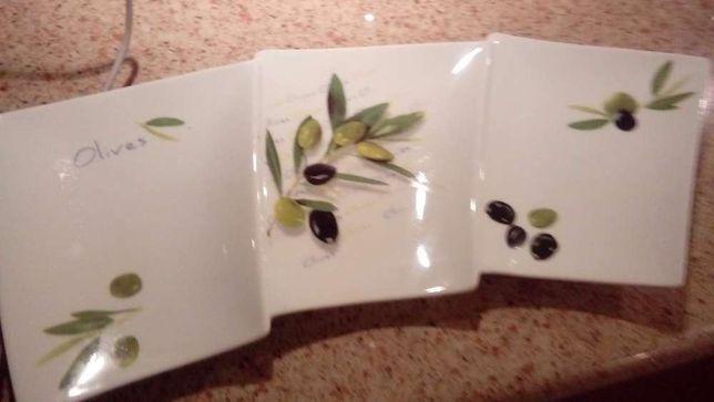 Prato para azeitonas