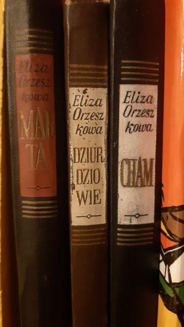 Eliza Orzeszkowa zestaw 3 książek