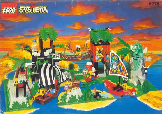 Lego System Piraci 6278 Enchanted Island 6292