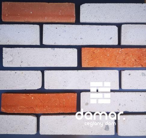 Płytka z cegły, płytki ceglane, BIAŁE, stara cegła PROMOCJA
