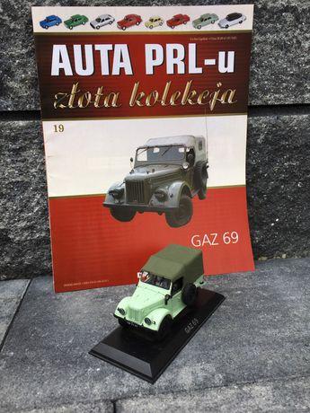 Kolekcjonerski GAZ 69-auta PRL,model,autka,resoraki,kolekcja,auto