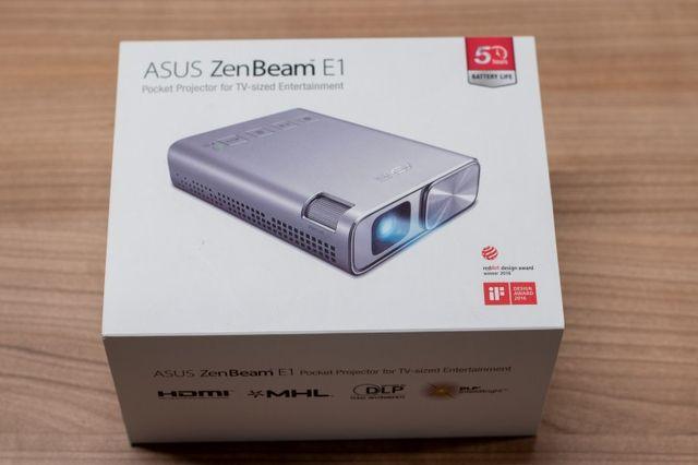 Projektor ASUS ZenBeam E1 - przenośny rzutnik LED