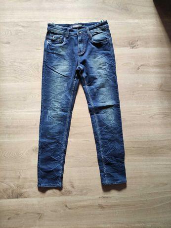 Spodnie jeansowe męskie r. 30
