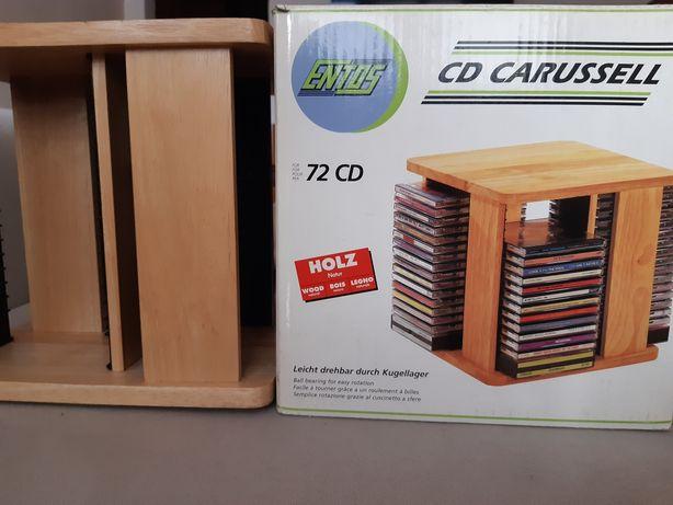 Obrotowa mini szafka/stojak  na CD