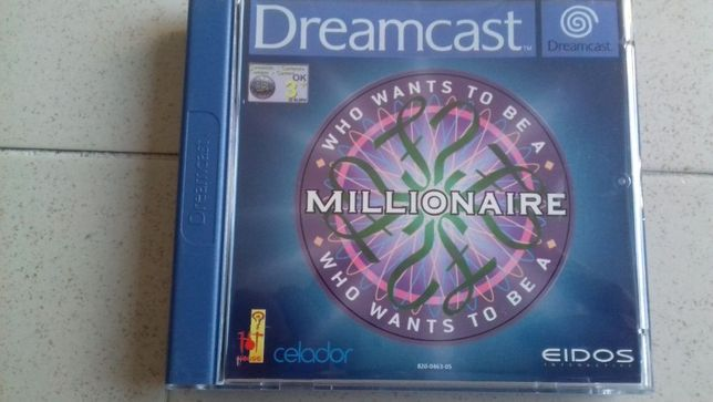 jogo Sega Dreamcast Who wants to be a Millionaire