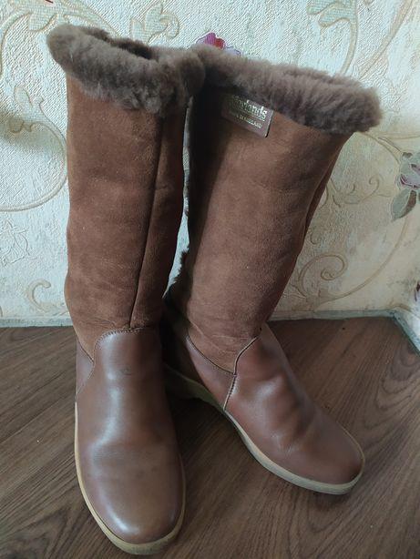 Продам сапоги зимние кожаные Morlands