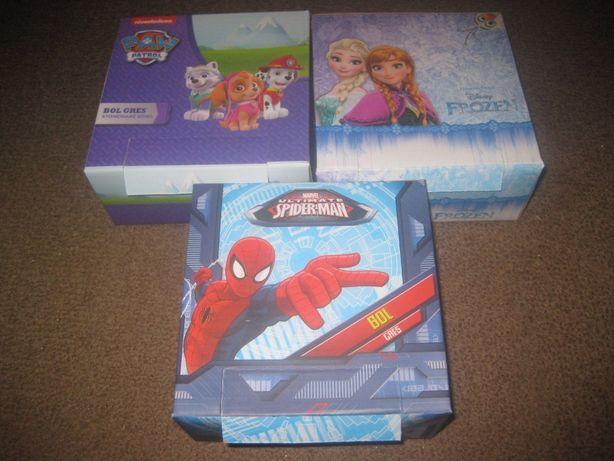 3 Taças para Criança/Paw Patrol, Frozen,Spider-Man/Embaladas!