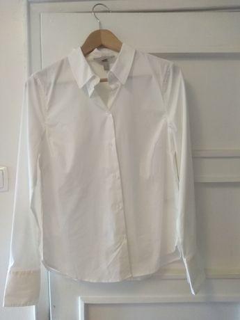 2 camisas branco e preto novas . H&m n°38
