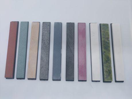 Природные точильные камни камни бланки точилка для ножей (новые)