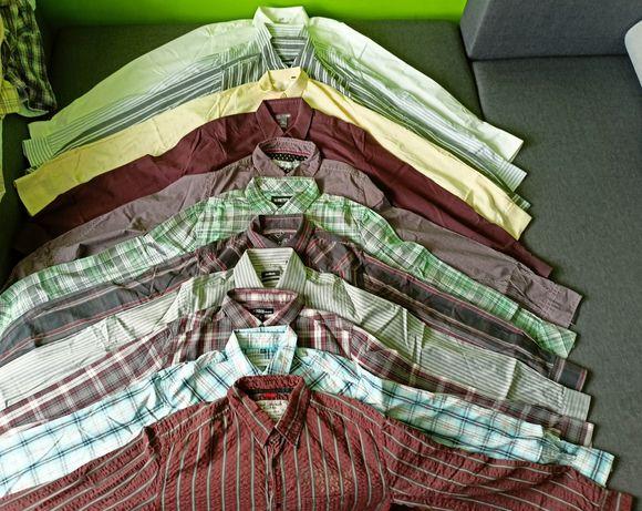 Koszula długi rękaw M L / 25zł komplet 12szt + gratis