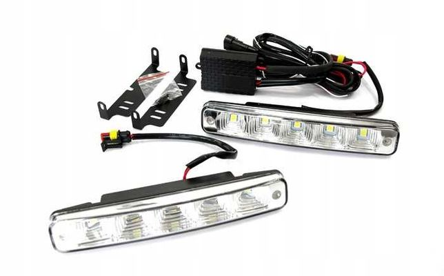 Zestaw DRL 03 Premium DRL światła LED AUTOMAT 2x5 LED 780LM E4