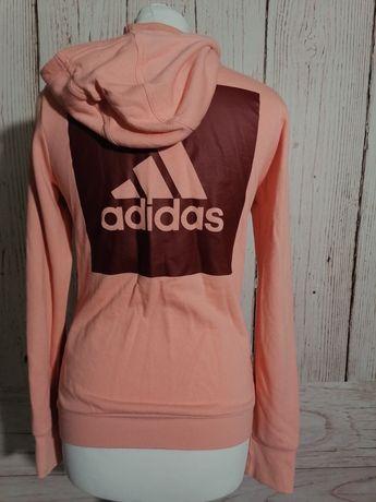 Bluza sportowa rozpinana z kapturem Adidas S