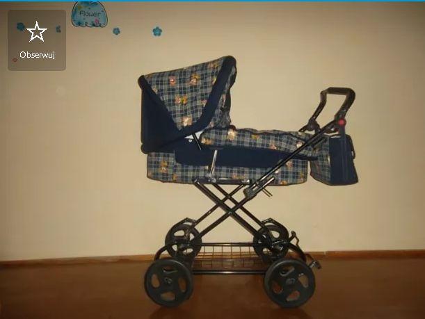 Wózek dziecięcy 2 w 1 gondola i spacerówka