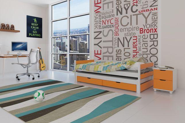 Nowe łóżko parterowe dla dzieci TONI! Solidnie wykonane! Świetna jakoś