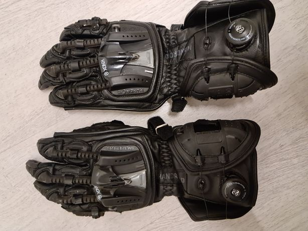 Rękawice Motocyklowe Knox Handroid Full CE - Czarne