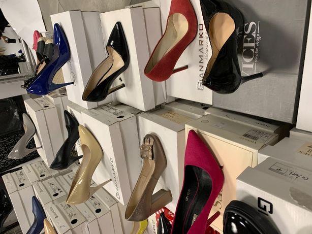 Likwidacja sklepu obuwie buty damskie stok stock