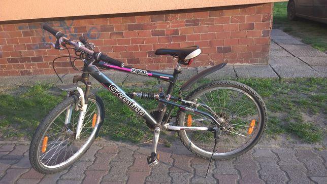 Sprzedam rower Shimano Greenfield na kołach 24''
