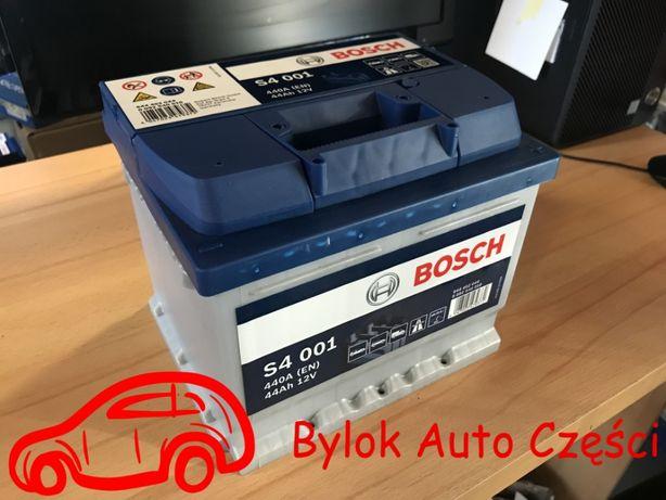 """AKUMULATOR 44AH/440A """"Bosch"""" NOWY!!! Bylok Auto Części Gliwice Zabrze"""