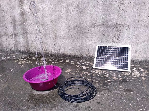 Kit solar painel fotovoltaico + bomba de água submersível NOVO