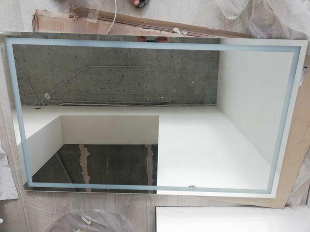 Акция,-70% SALE!Зеркало с LED подсветкой OLIVIA 90х150 со сколом
