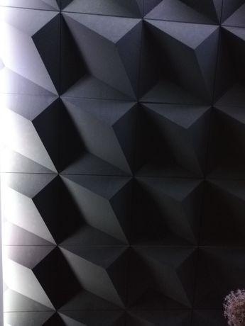 Panele 3D gipsowe
